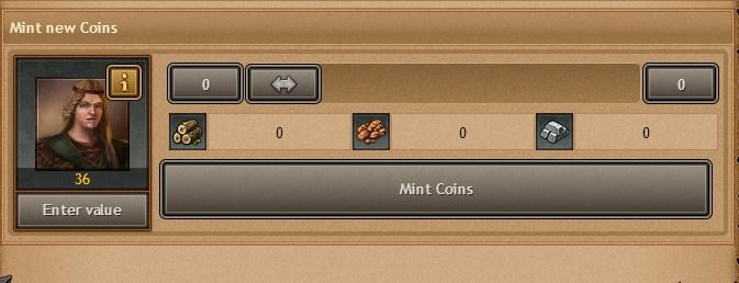 złotowłosa moneta