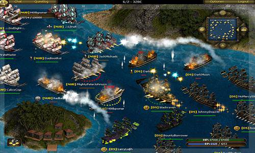 Seafight mmorpg online 001