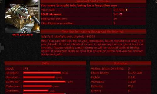 gry o wampirach bitefight