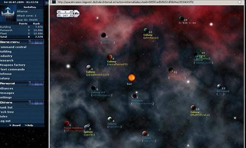 kosmiczna gra space invasion 002