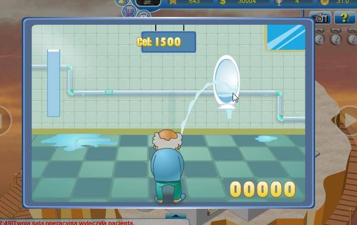 Czy potrafisz trafić do toalety? Sprawdź mini gry.