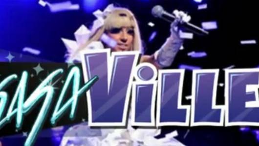 Lady Gaga w FarmVille