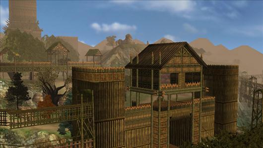 9Dragons - widok wieży strażniczej w grze. Zagraj już dziś w tą wspaniałą grę MMO