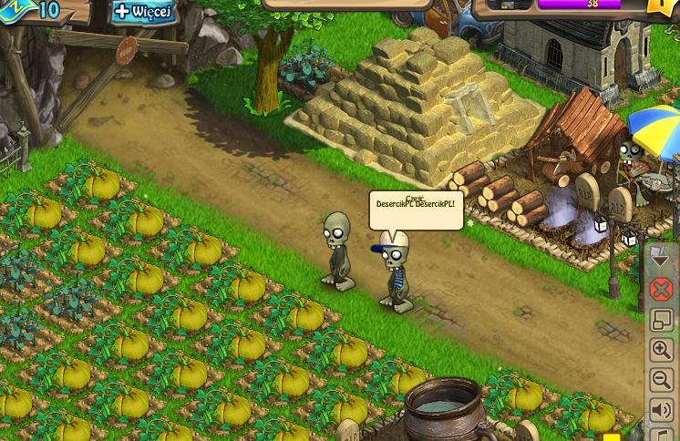 Widok farmy okiem zombie