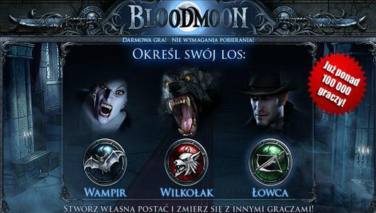 przeglądarkowa gra Bloodmoon