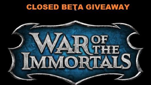 War of the Immortals: Już 10 listopada! (Klucze)