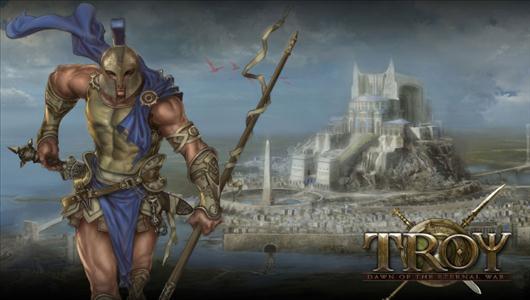 Gra mmo Troy Online ujawnia dwa artworki!
