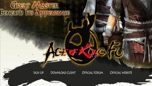 gra mmo Age of KungFu
