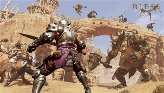 Nowe screeny z gry MMORPG Bless
