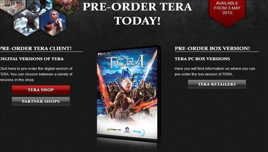 pre order tera