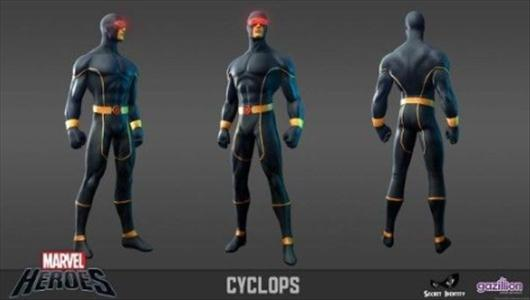 cyklop gry mmorpg marvel heroes