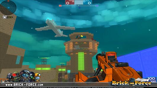 gry mmo brick force open beta