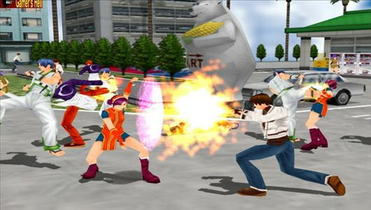 gry mmo The King of Fighters Online