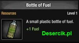 butelka z paliwem
