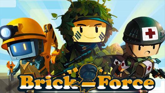 Tryb zombie w Brick Force, zmnienione UI i kostka Tall Grass
