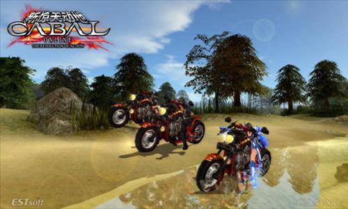 cabal e motocykl harley