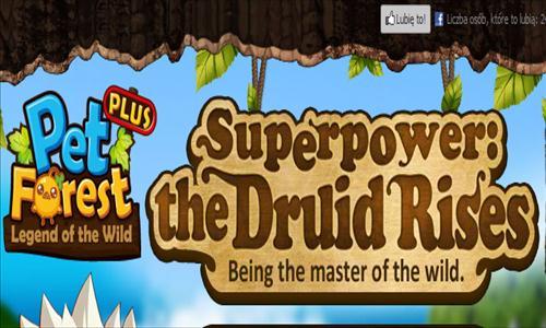 Pet Forest Plus dostaje nową klasę: Druid