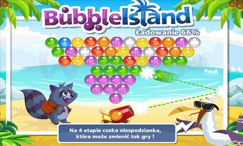 bubble island na facebooku