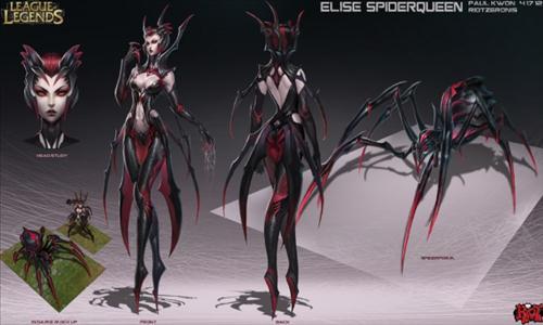 elise królowa pająków