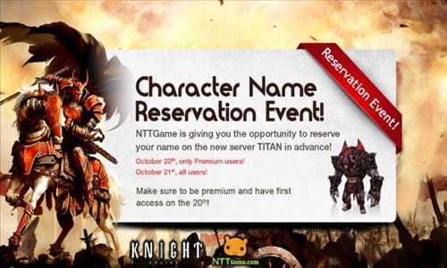 knight online nowy serwer