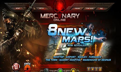 mercenary online obt