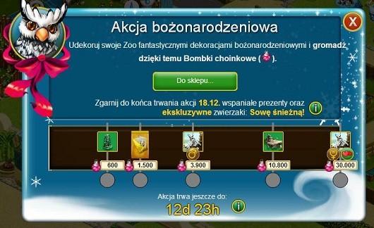 my free zoo swiateczne ozdoby
