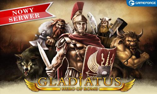 Gladiatus otwiera 26 serwer!