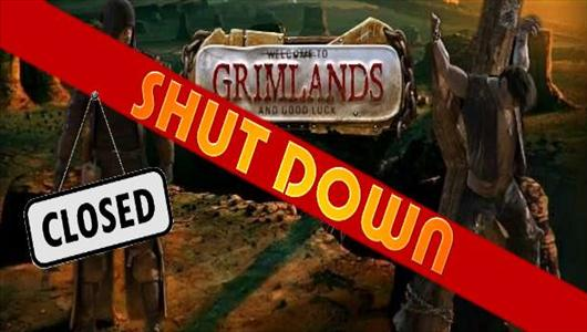 grimlands zamyka serwery