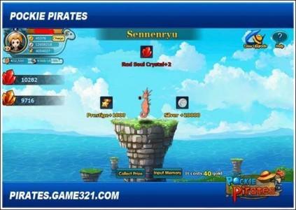 pockie pirates tysiącletni smok