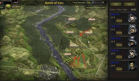 kampania bitwa o kijów