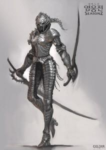 Mabinogi-Heroes-Skull-armor-design-1