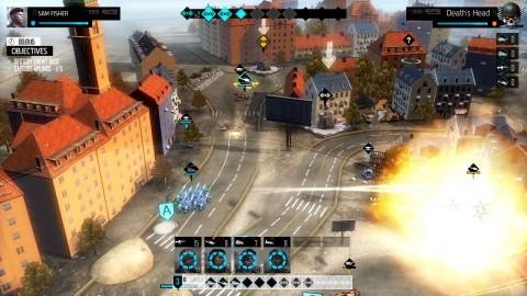 Spokojne miasto w EndWar Online potrafi zmienić się w pole wojennej rozgrywki