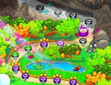 Super Gem Heroes Mapa
