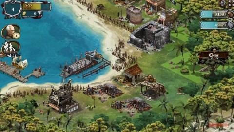 widok wyspy