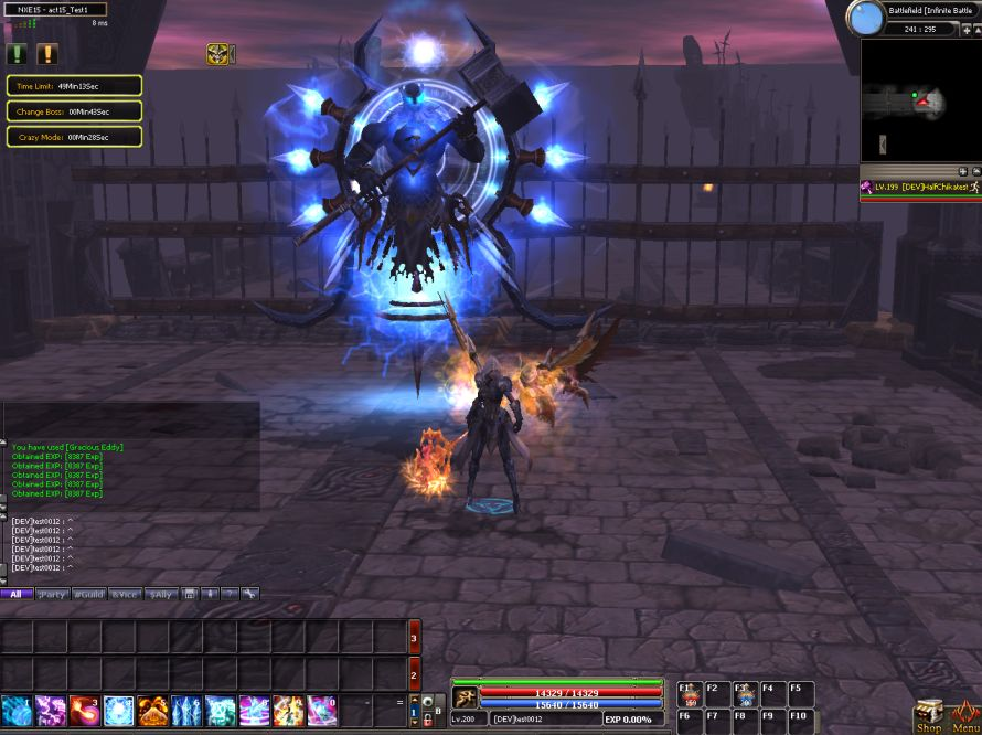 20131115_Dekaron_Infinite Battle 2_Final Boss