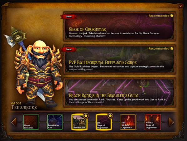 Warlords of Draenor: Przewodnik po przygodach