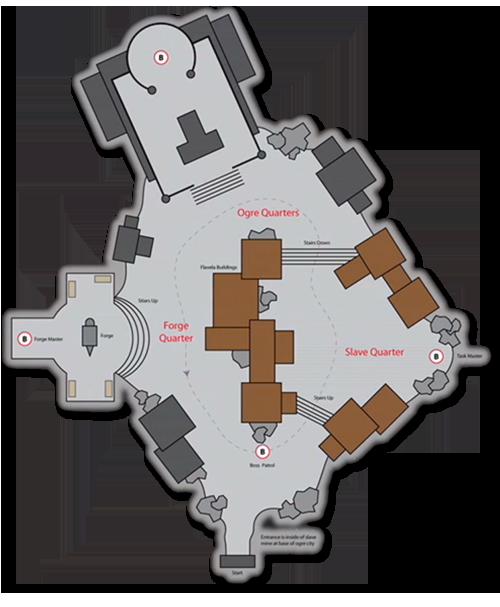 Bloodmaul Slag Mines mapa
