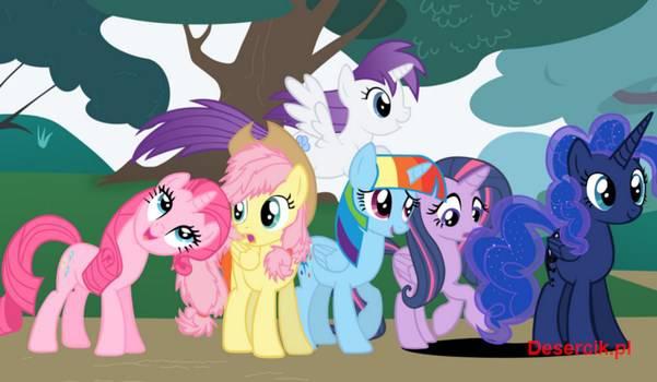 Kucyki Pony zapraszają do Legends of Equestria