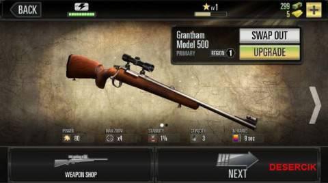 wybor broni na polowanie