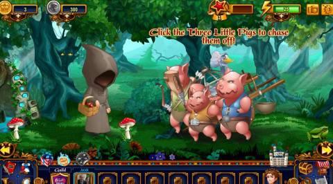 kopciuszek i swinie