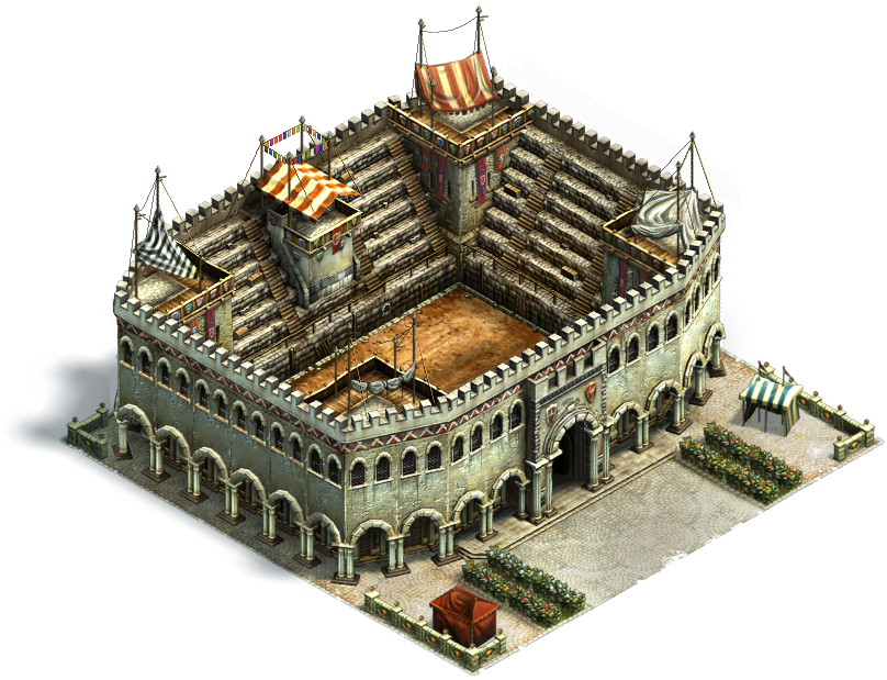 Budowa Amfiteatru w Anno Online
