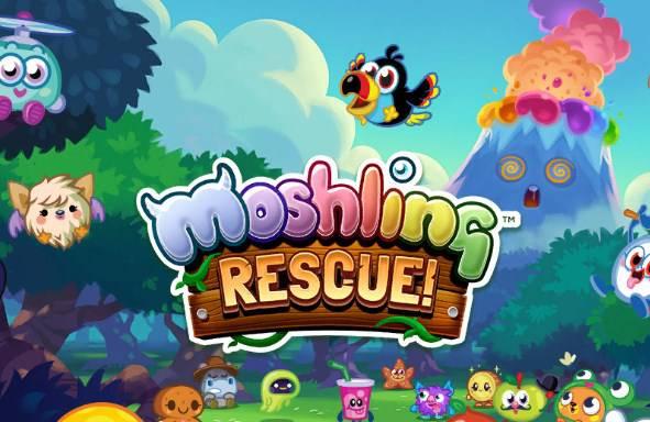 Moshling Rescue – ratuj kolorowe stworki ze świata cukierków