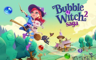 Bubble Witch Saga 2 – gra w kulki może być sexy