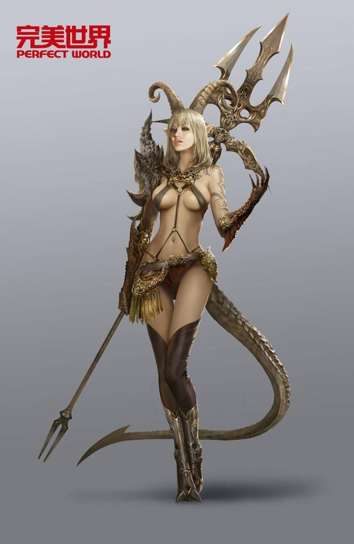 Forsaken-World-2-Demon-race-artwork