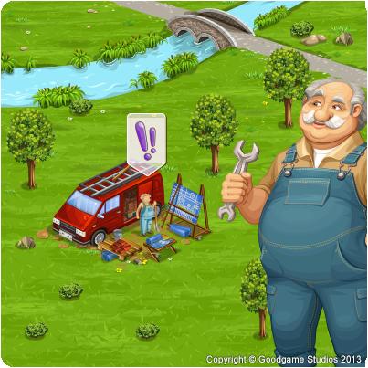 Mistrz Budowniczy w Big Farm