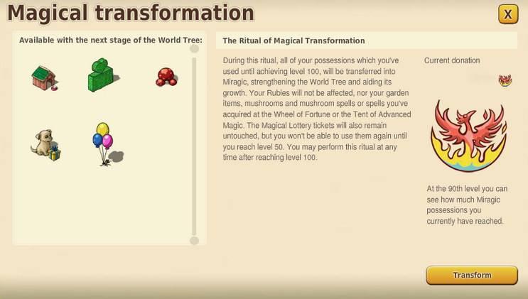 Rytuał Magicznej Transformacji