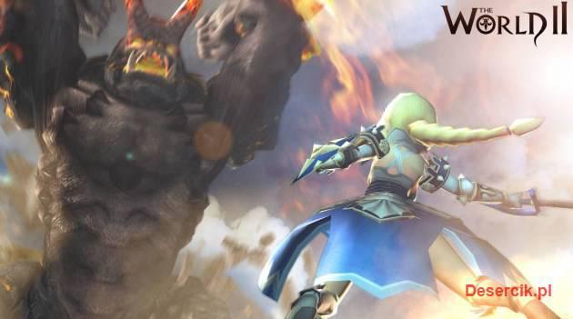 The World Online 2 zwiastun walki z Bossem