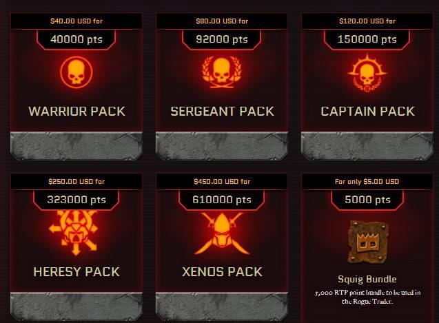 Znamy 19-naście klas z Warhammera 40,000: Eternal Crusade