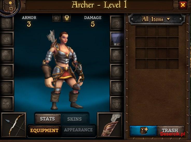 archer kobieta