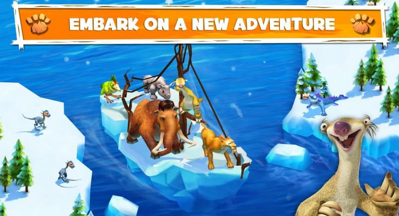 Ice Age Adventures, przywracamy Epokę Lodowcową na naszych telefonach